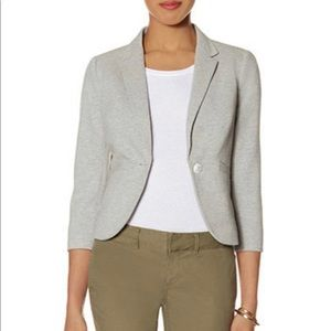 The Limited Light Heather Gray Blazer
